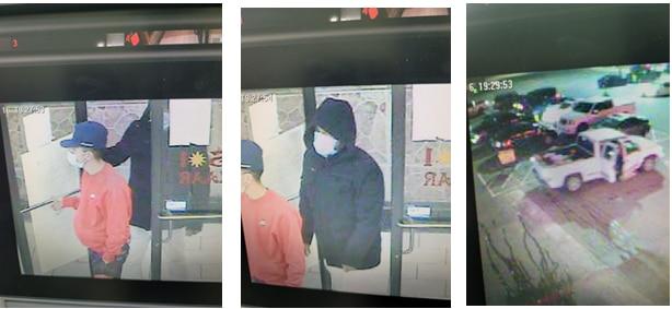 Imágenes de la cámara de vigilancia del centro comercial Plaza Del Sol en North Dallas.