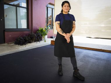 Chef Misti Norris is the owner of Dallas restaurant Petra and the Beast.