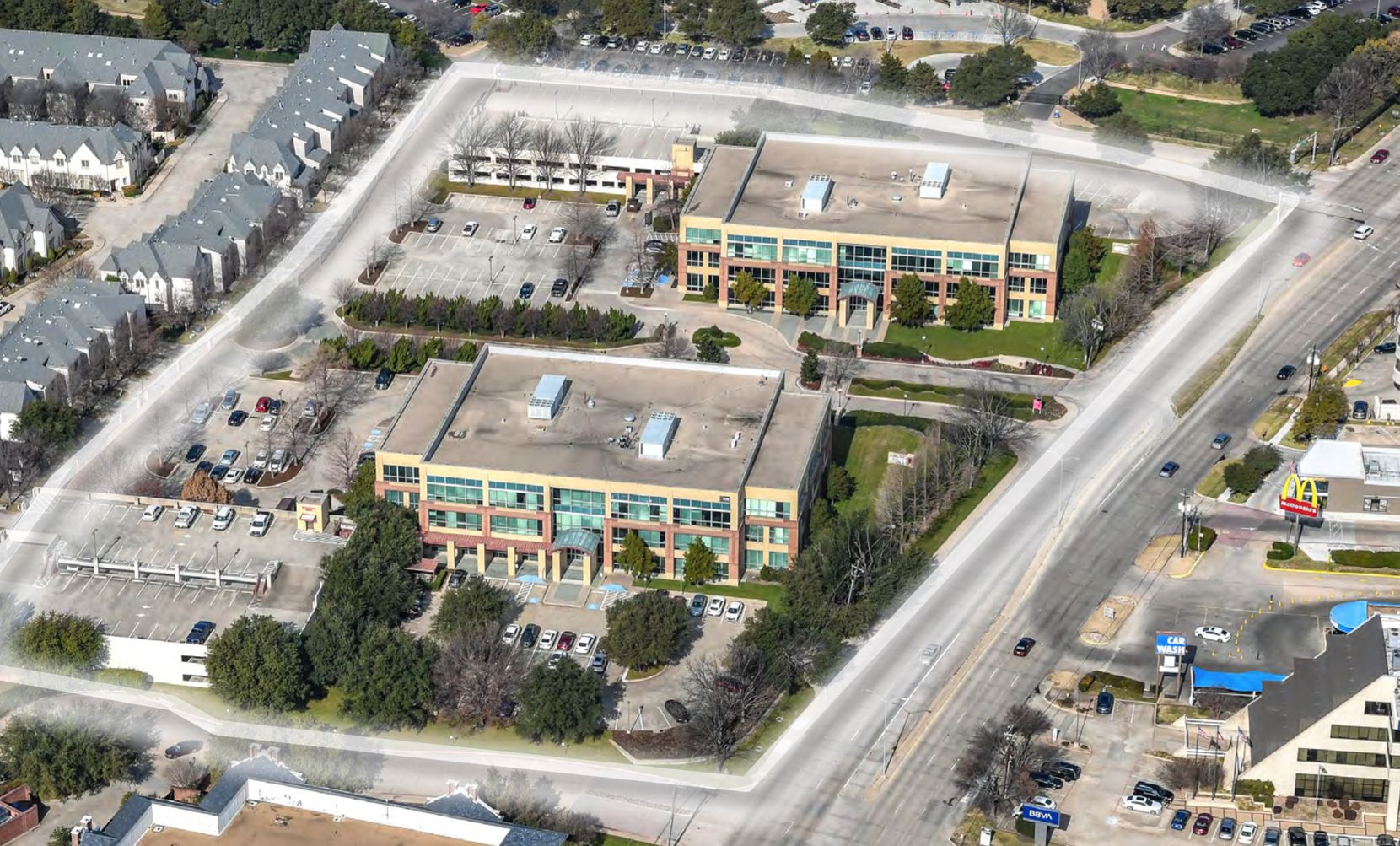 Amber Trail Corporate Park is on Preston near Campbell Road.