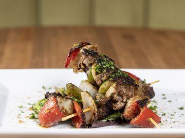 Beef Suya at Pangea Restaurant in Garland, Thursday, June 24, 2021. (Brandon Wade/Special Contributor)
