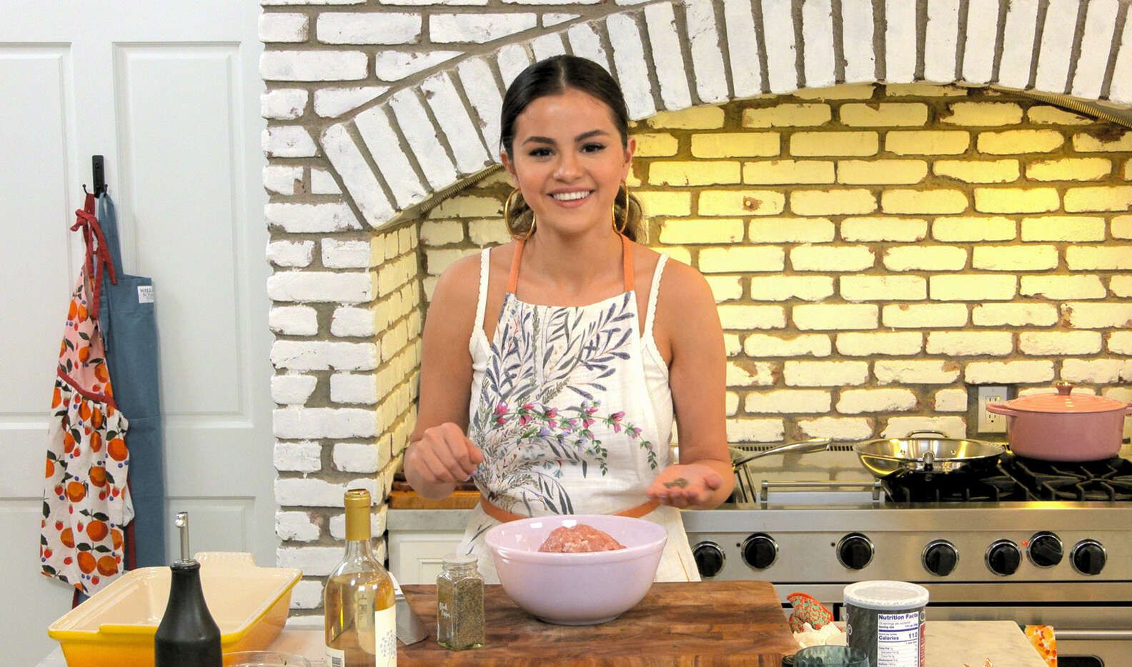 "Selena Gomez is back in the kitchen for season two of ""Selena + Chef."""