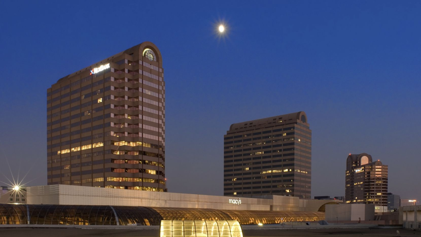 The three Galleria office towers at LBJ Freeway and Noel Road have more than 1.4 million square feet.