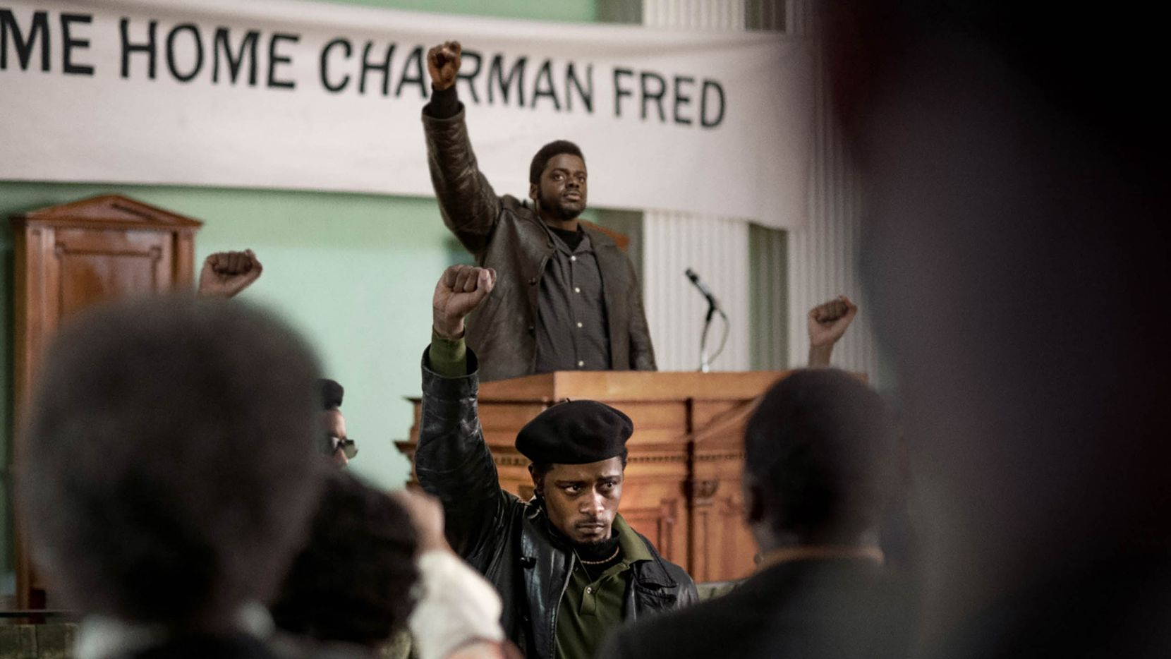 """Lakeith Stanfield and Daniel Kaluuya appear in """"Judas and the Black Messiah"""" by Shaka King, an official selection of the Premieres section at the 2021 Sundance Film Festival."""