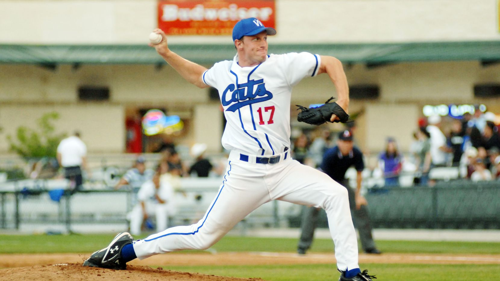FILE - Fort Worth Cats pitcher Max Scherzer is pictured during the second inning of a game against Shreveport on Saturday, May 12, 2007.