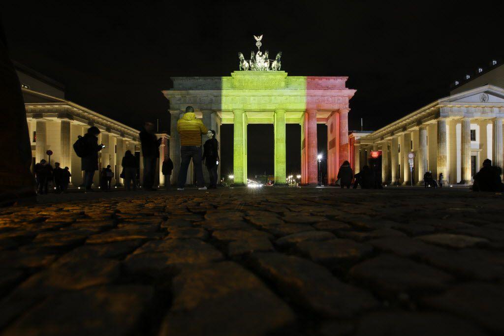 La puerta de Brandemburgo/AP