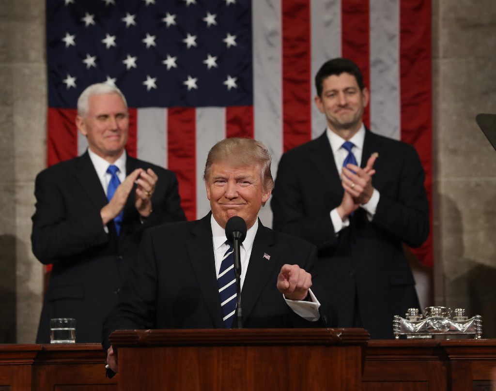 When President Donald Trump deliver his first address to a joint session of Congress, tax reform was high on his list of priorities.