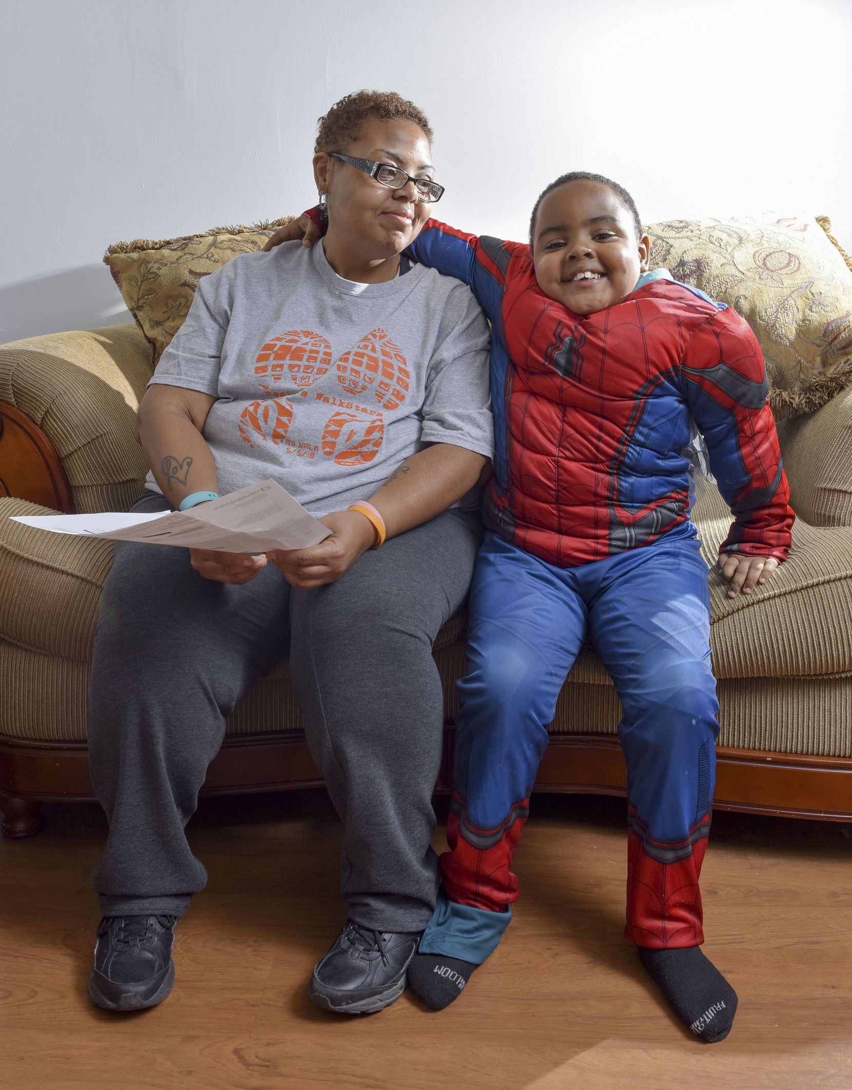Shereese Hickson supports herself and her son, Isaiah, on $770 a month.