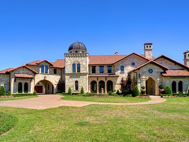 A look at the exterior of 5513 Montclair Drive in Colleyville.