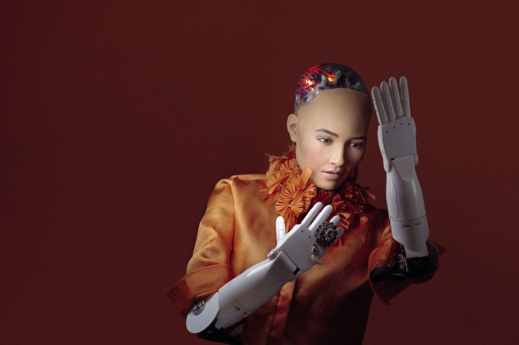 Sophia robot created David Hanson. Courtesy of ELLE