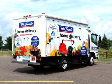 Tom Thumb has operated an online grocery delivery service for Tom Thumb and Albertsons customers in Dallas-Fort Worth for some time.