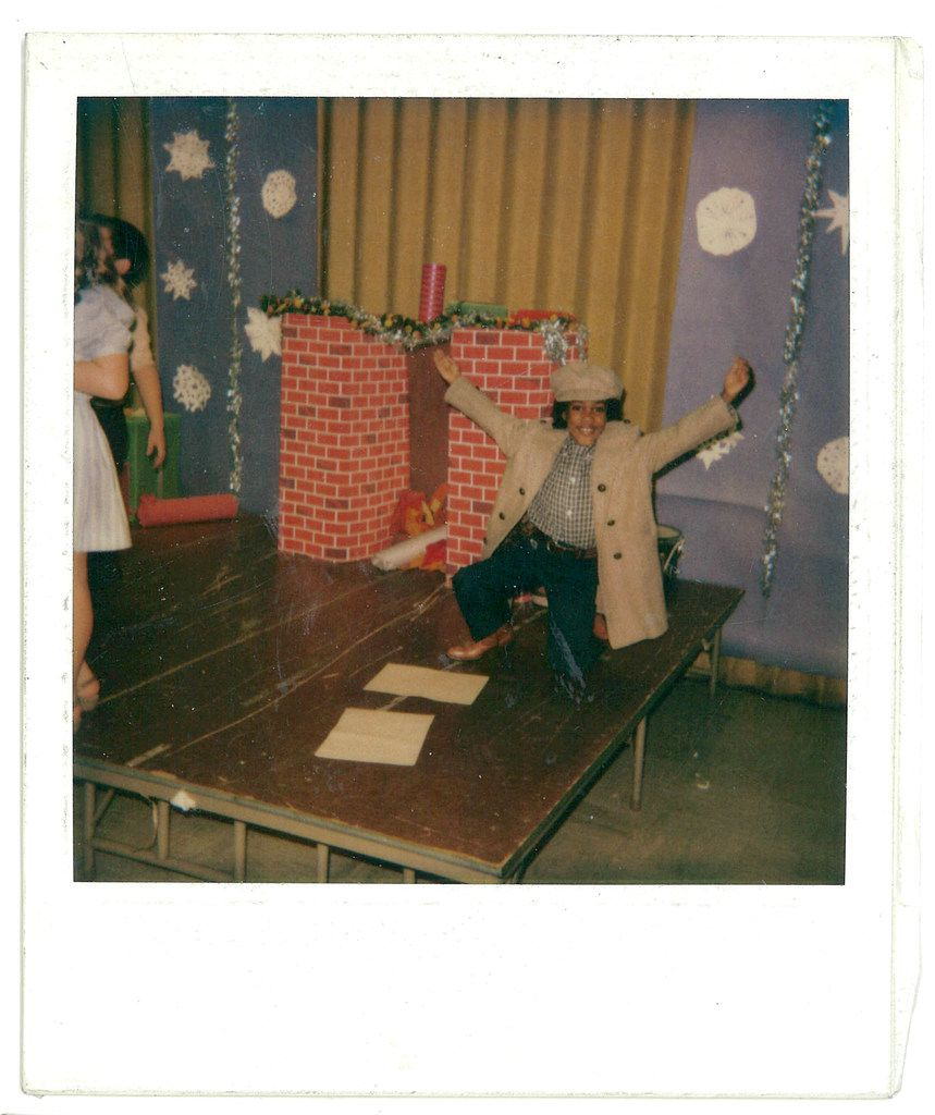 Playwright Jonathan Norton is shown in a school play. He grew up in the Pleasant Grove area of Dallas.
