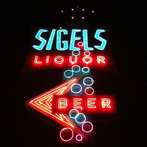 From Sigel's website, the iconic sign that returns to Dallas next week