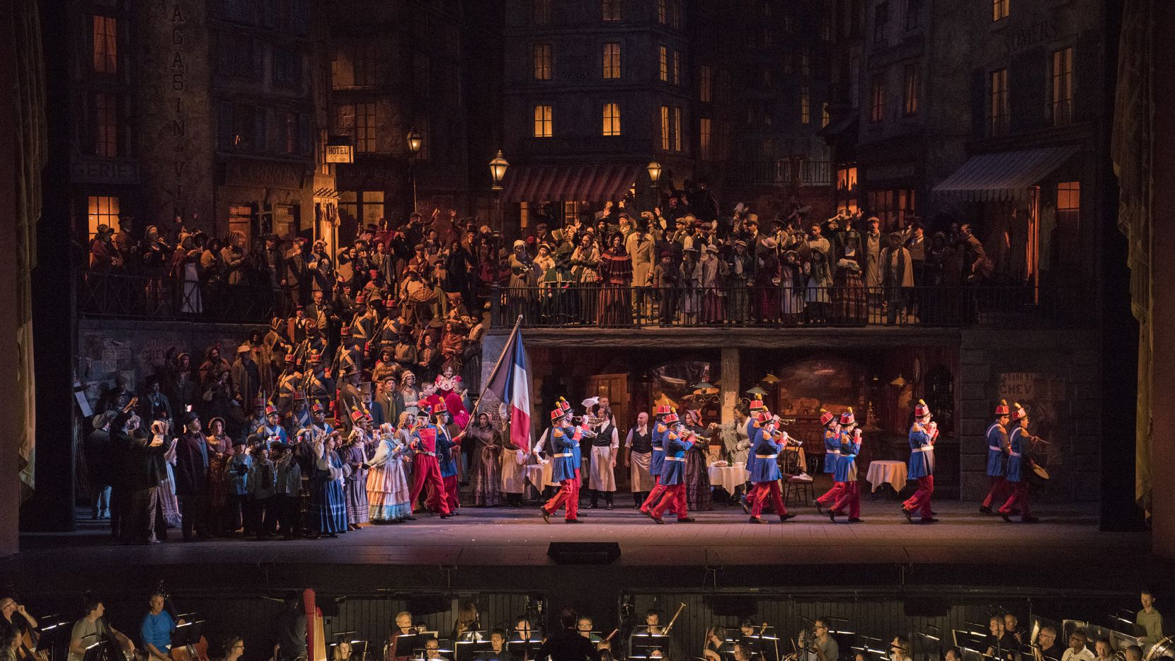 Fort Worth Opera will present the Metropolitan Opera's Feb. 24, 2018 performance of Puccini's 'La bohème' at Coyote Drive-In.