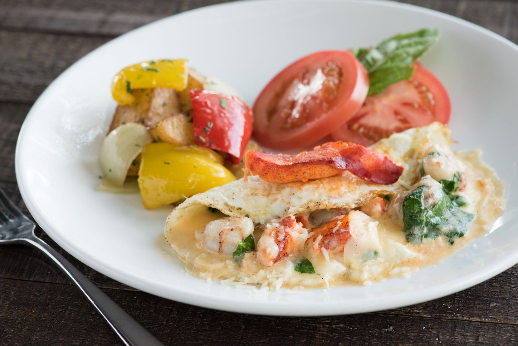 Princi Italia offers the Princi Omelette di Mare as part of its Father's Day brunch menu.