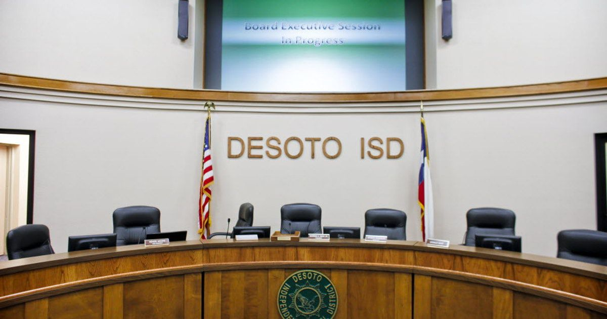 The DeSoto school district has struggled with finance issues in recent years, laying off teachers, cutting programs, borrowing funds and even closing a school.