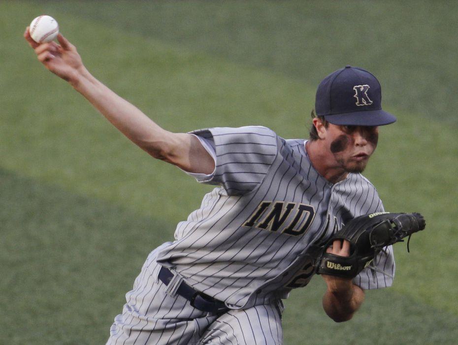 Keller pitcher Eric Hammond on June 3, 2021.