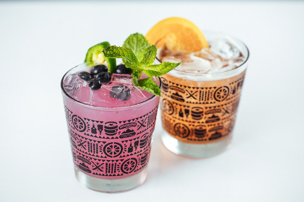 If you're sitting on the BYOB patio at Khao Noodle Shop, you can order drinks from neighboring Top Round.