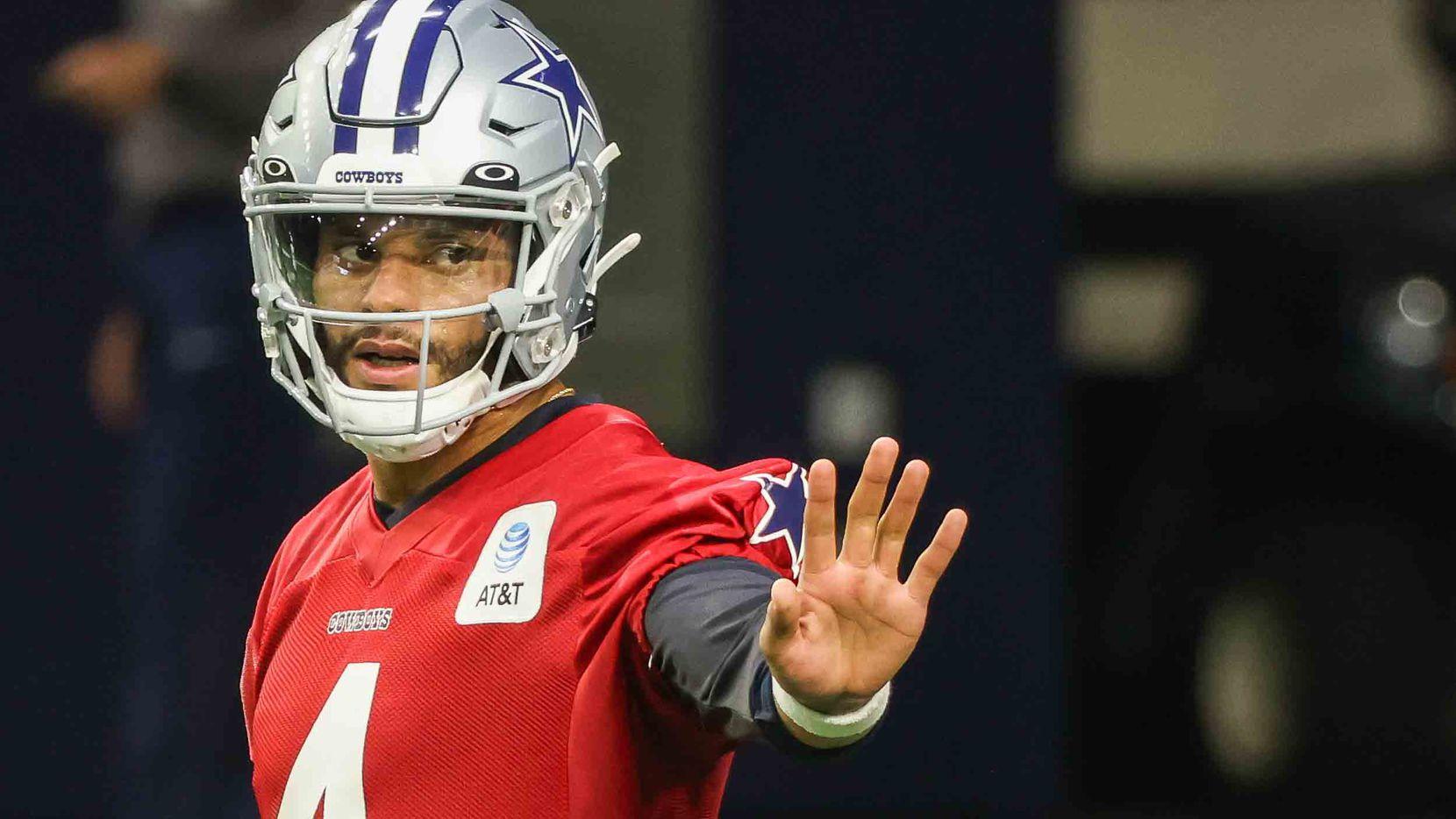 Cowboys OTA observations: Dak Prescott comfortable in drills; first look at  some defensive alignments