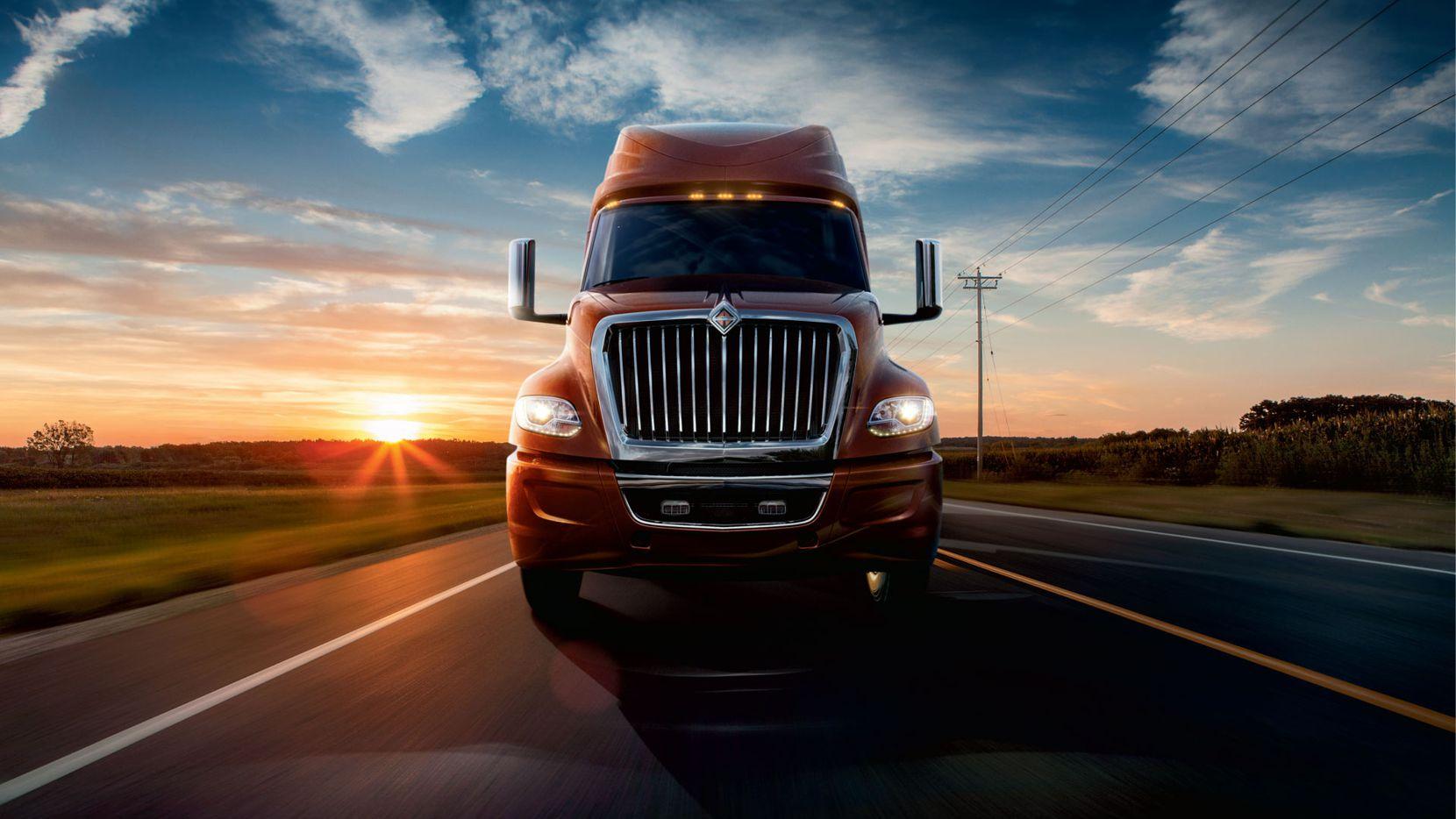Heavy-duty trucks are a key part of Navistar's business.