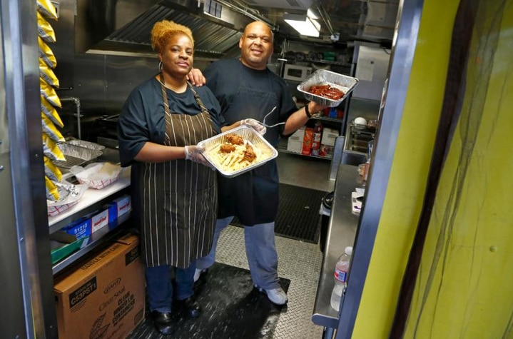 Sheri and Quincy Brown are now operating a food truck in Garland.