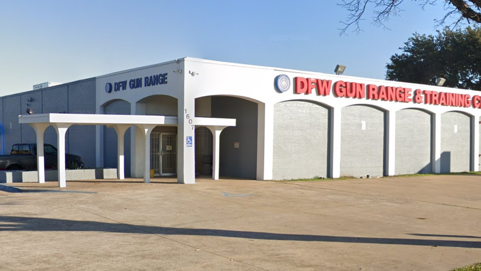 Thieves took dozens of guns from DFW Gun Range early Sunday.