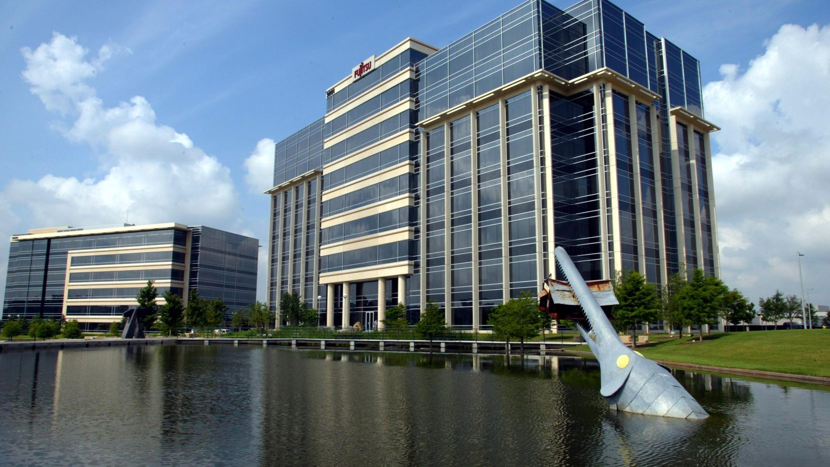 Hall Park in Frisco is home to 180 companies. The average office lease is just 5,000 square feet, but the businesses often grow into bigger spaces.