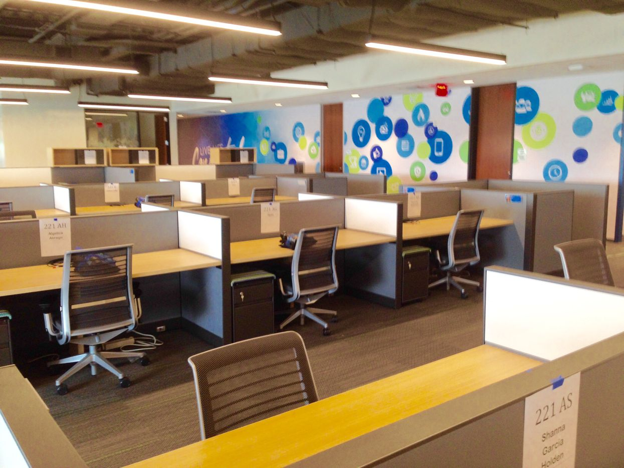 About 250 people will work full time in Stream Energy's new Addison office.