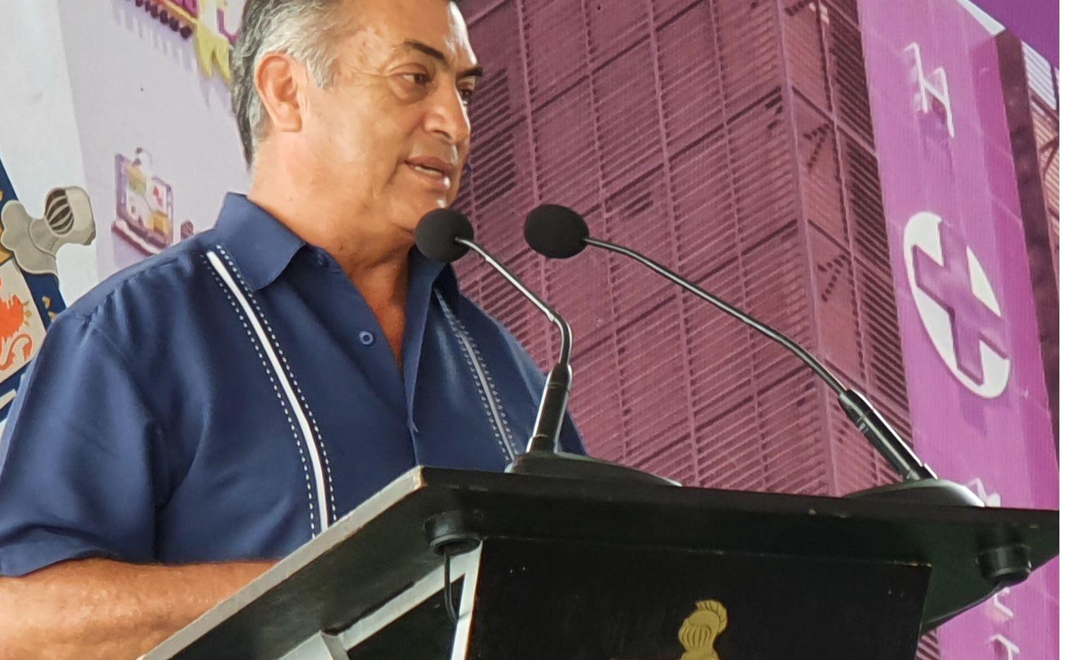 En su primera aparición pública tras la veda electoral y los comicios del 6 de junio, el Gobernador Jamie Rodríguez afirmó que hay coordinación con el Gobierno federal y el de Tamaulipas para frenar esta serie de desapariciones forzadas.