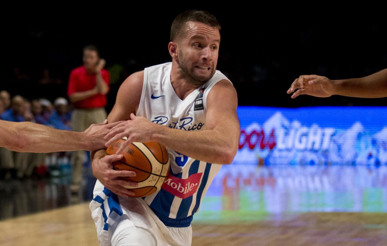 J.J. Barea fue figura del equipo de Puerto Rico que compitió en el torneo FIBA Americas entre agosto y septiembre en la Ciudad de México. (AP/EDUARDO VERDUGO)