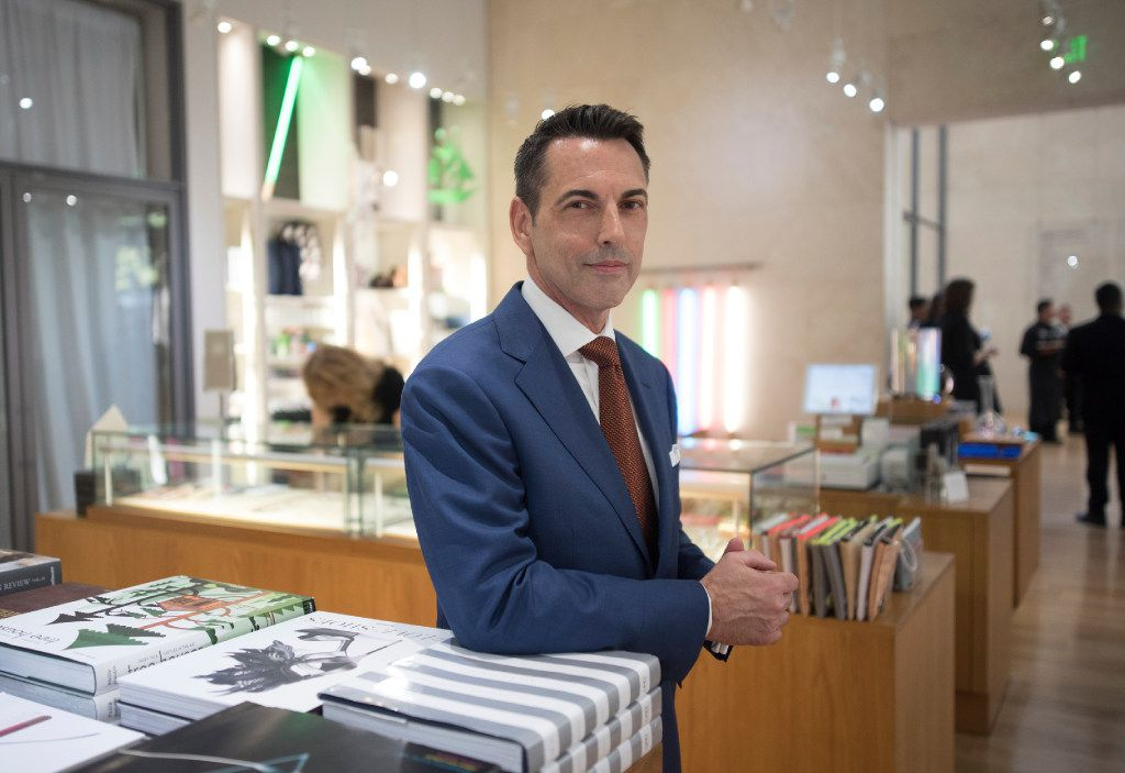 Donald Fowler is new director of retail for the Nasher Store at the Nasher Sculpture Center.  Photographed on Sept. 7, 2017.
