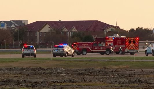 Rescue crews were at Addison Airport on Saturday after a small plane crashed.