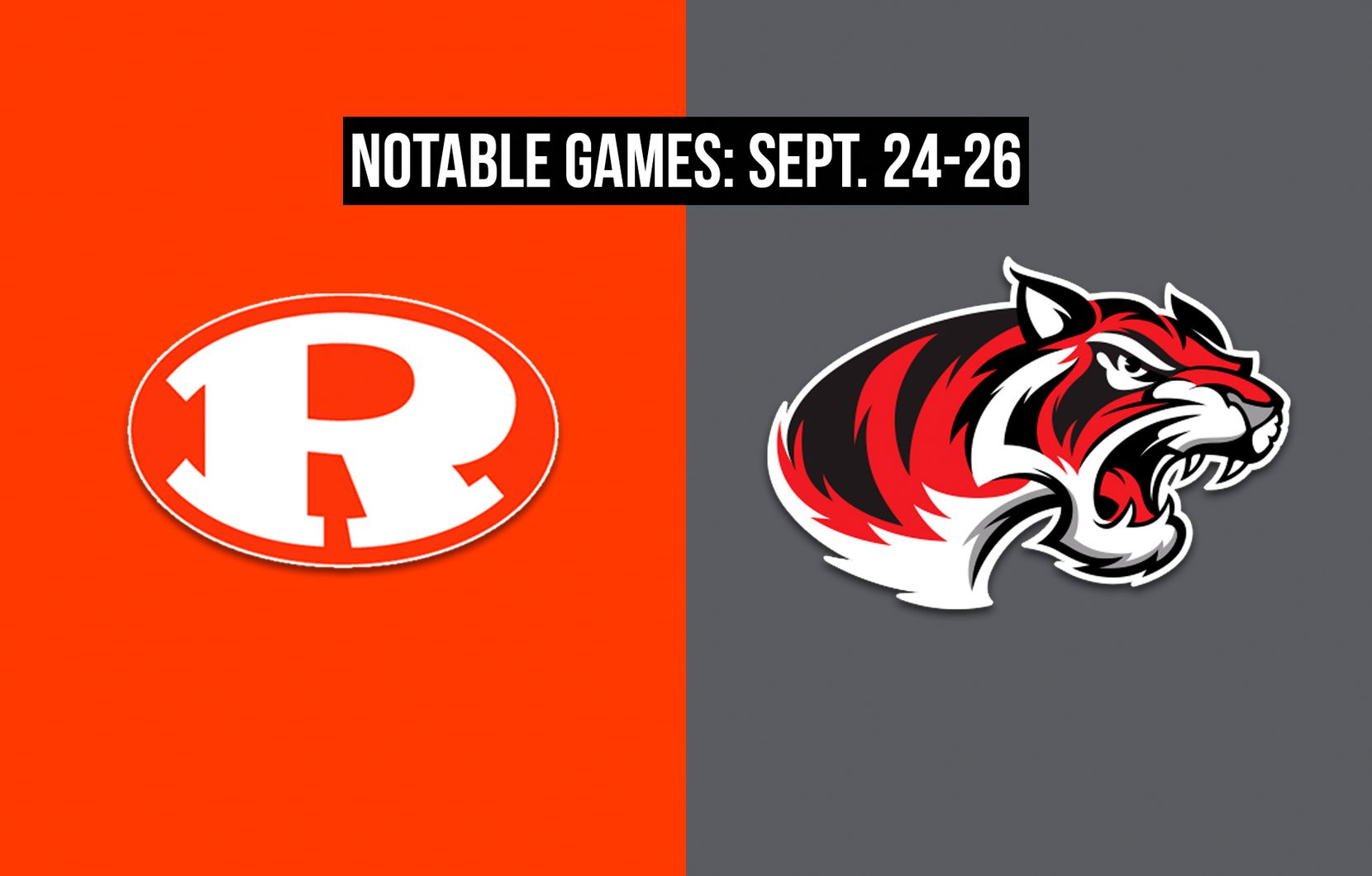 Notable games for the week of Sept. 24-26 of the 2020 season: Rockwall vs. Denton Braswell.