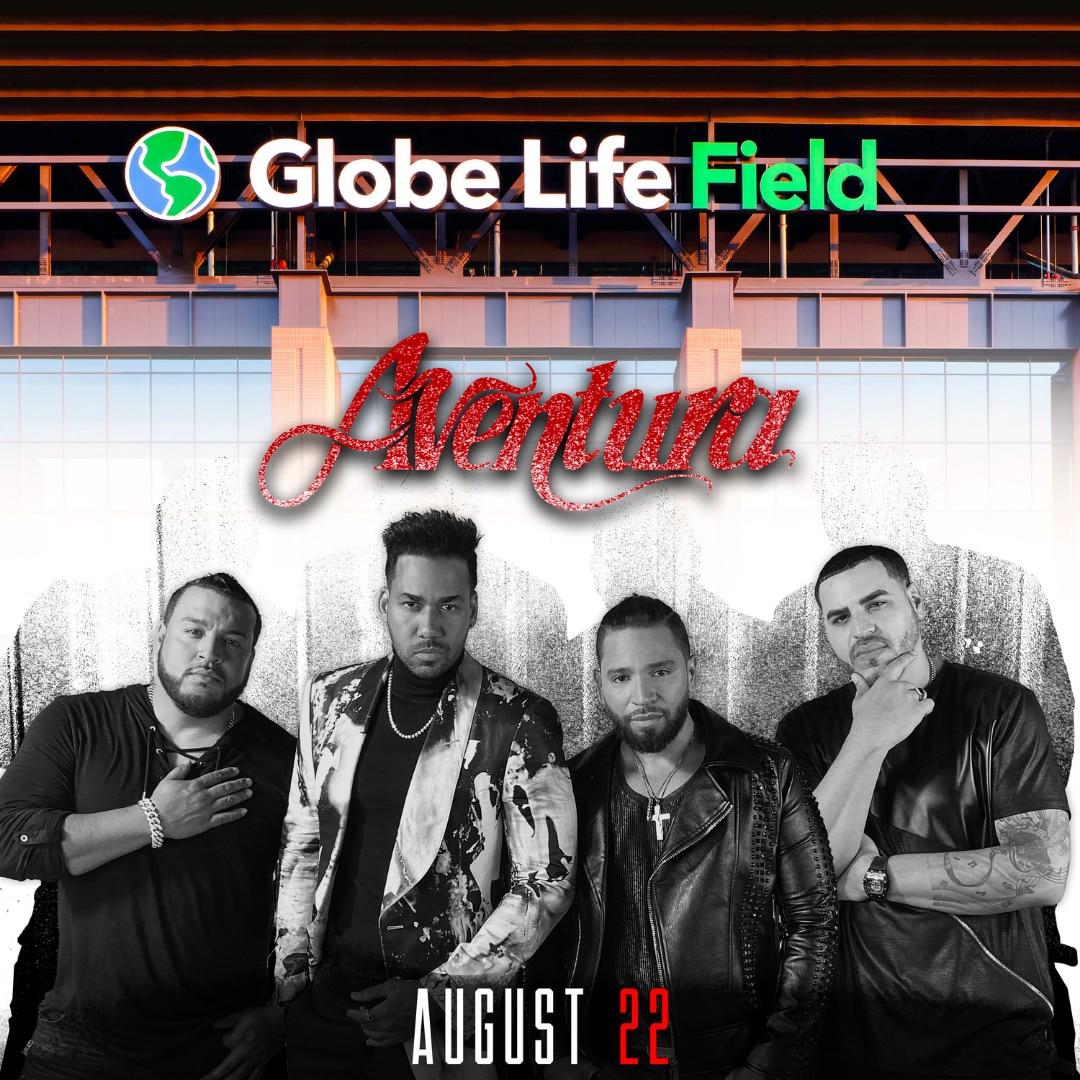 Promoción del show de Aventura en Arlington.