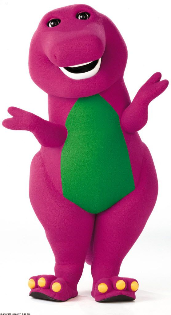 David Joyner spent a decade playing Barney the dinosaur when the show was filmed in North Texas.