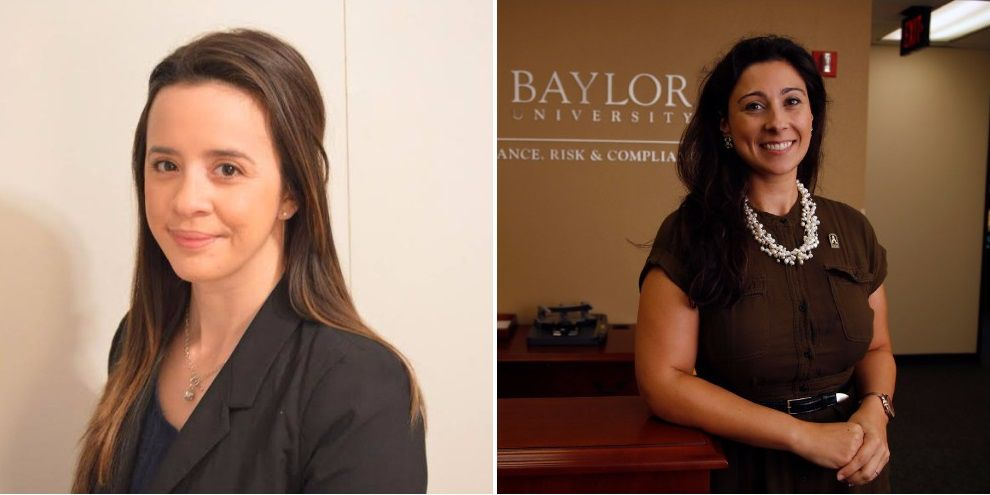 Former Baylor Title IX investigator Gabrielle Lyons, left, said this week that she filed a complaint with federal officials about Baylor's handling of Title IX requirements in April. The Office of Civil Rights opened an investigation in October after former Baylor Title IX coordinator Patty Crawford, right, filed a similar complaint.