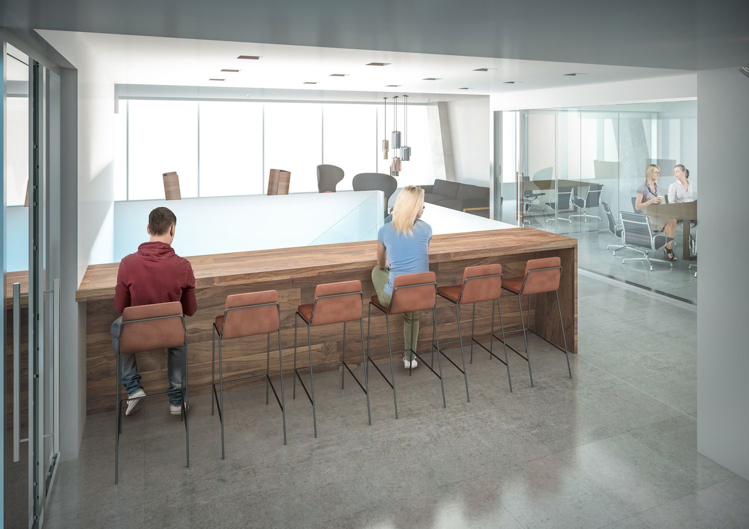Younger workers crave more open office environments while older employees want their walls.