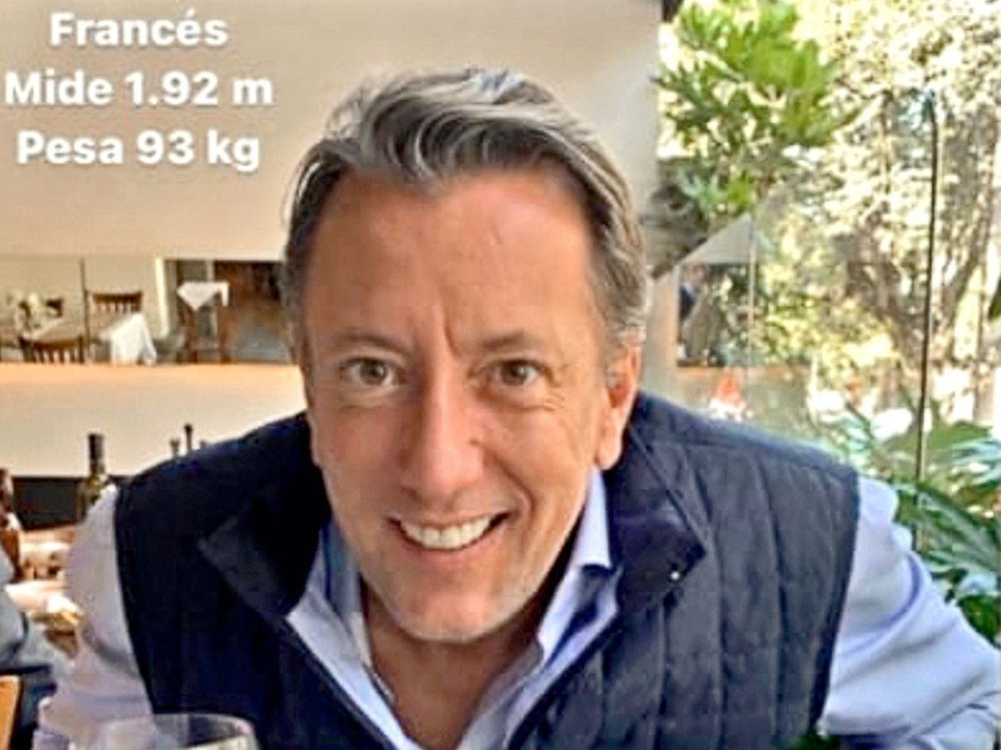 El empresario Baptiste Jacques Daniel Lormand, de 45 años, fue hallado sin vida.