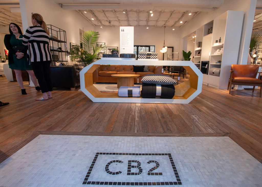 Interior of CB2 at 4510 McKinney Ave., in Dallas, Texas on September 25, 2019. (Robert W. Hart/Special Contributor)