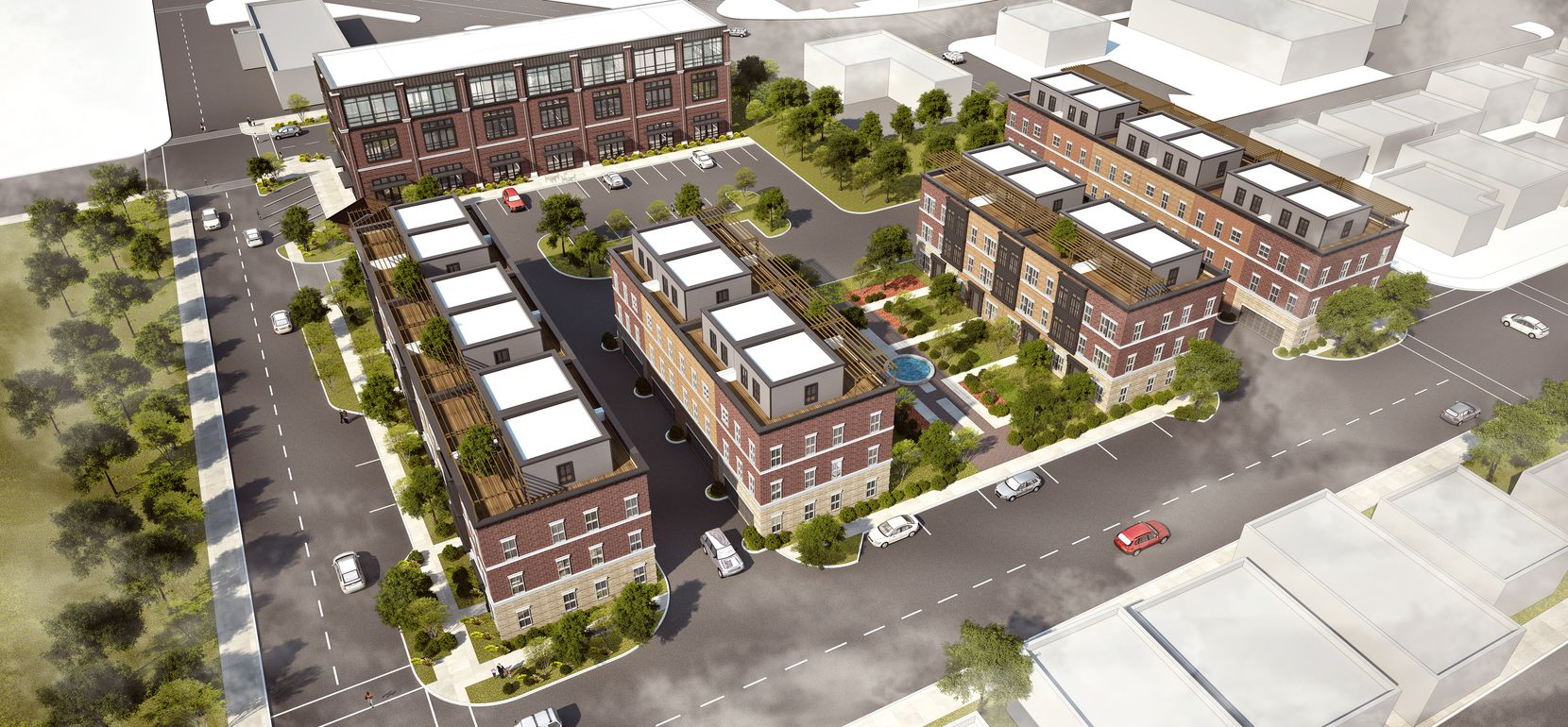 Nack Development's planned Calaboose mixed-use project in downtown Frisco.
