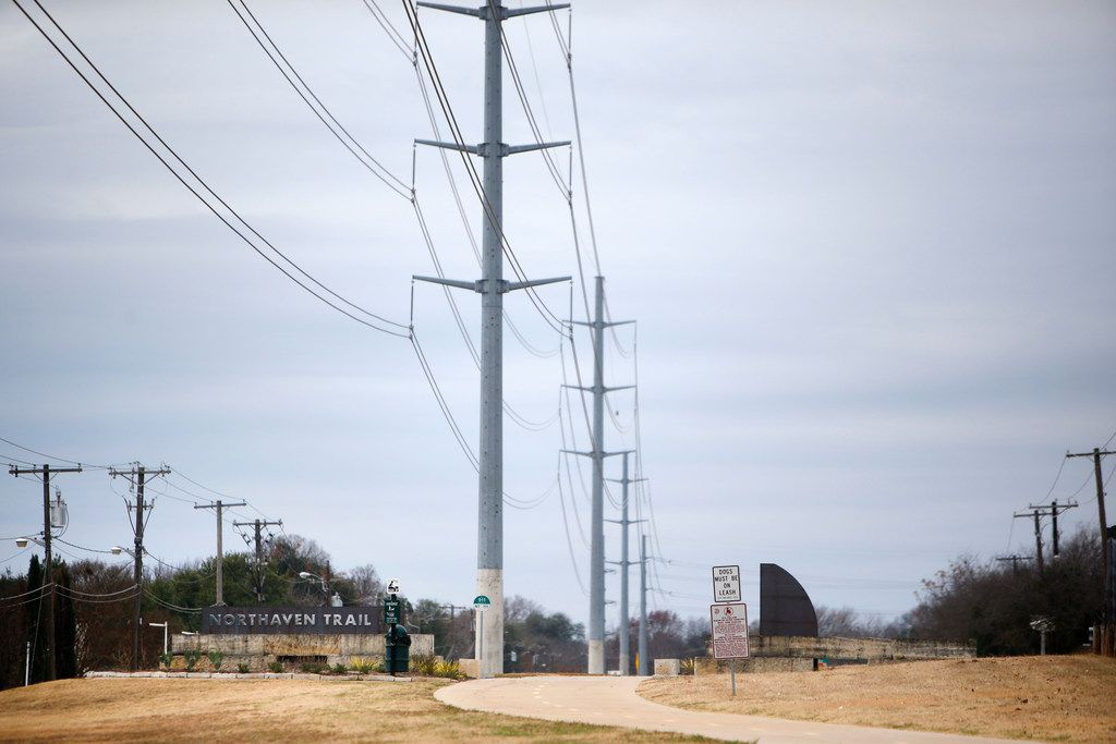 The next phase of the trail will run from Denton Drive to Cinderella Lane in northwest Dallas. (Rose Baca/The Dallas Morning News)