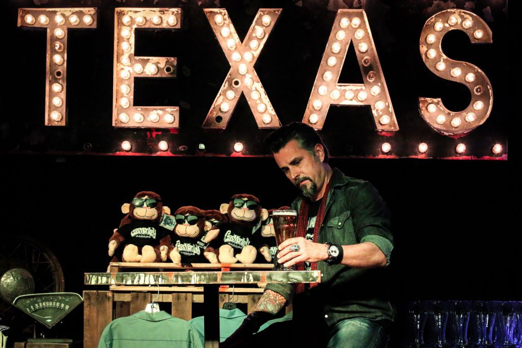 Richard Rawlings takes a break during Fast N' Loud Live Clip Show Watch Party at Gas Monkey Bar and Grill on Jan 13, 2014