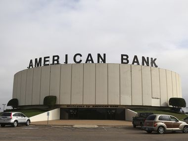The group Preservation Texas says the round bank on I-35 in Bellmead (just outside Waco) is slated for demolition. The American National Bank building was completed in 1979.