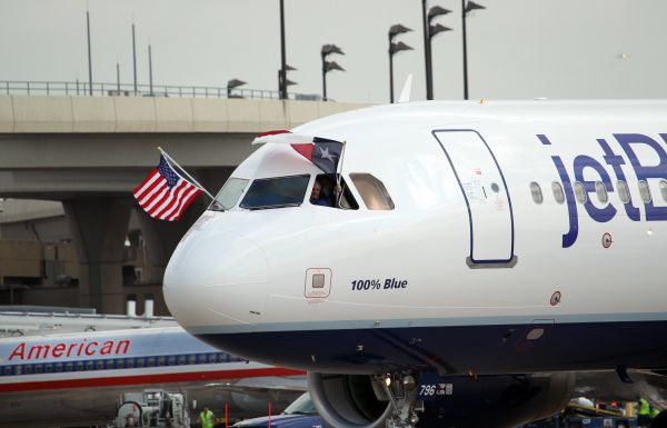JetBlue Airways said it had a loss of 78 cents per share. Losses, adjusted for non-recurring gains, came to $1.48 per share. The results surpassed Wall Street expectations.