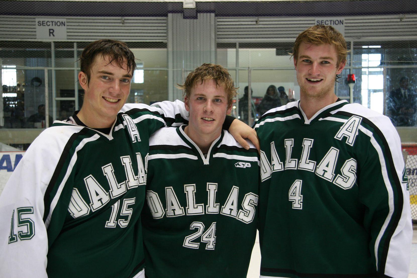 Blake Coleman (24) as a member of the Dallas Stars Elite Hockey Club.