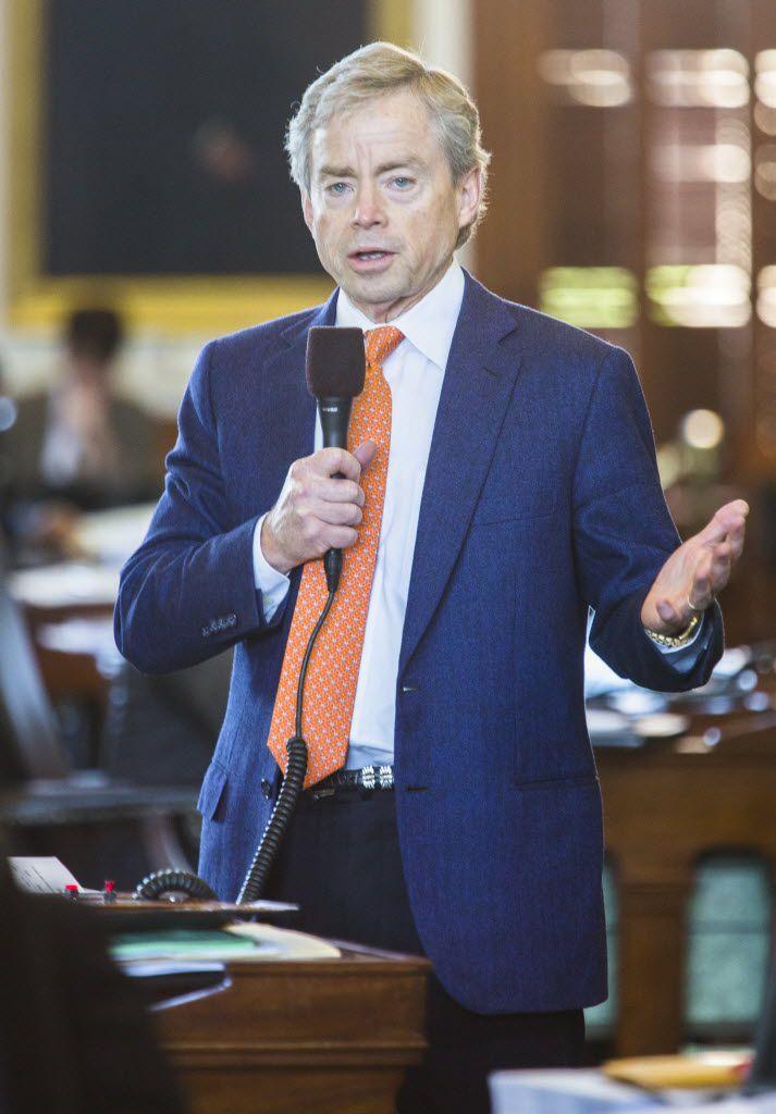 Texas state Sen. Don Huffines (Ashley Landis/The Dallas Morning News)