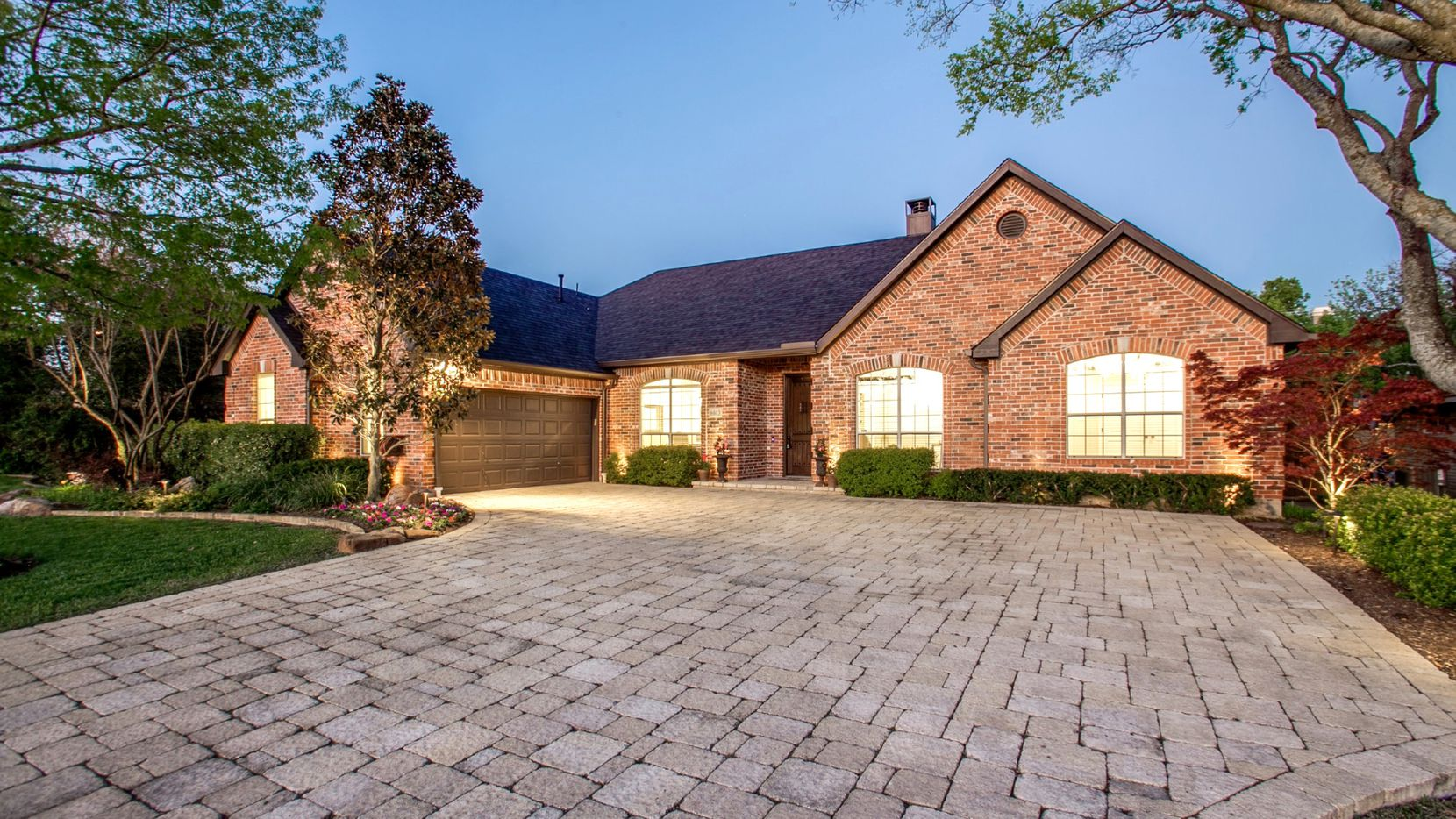 Tour the traditional-style home at 6613 Villa Road in North Dallas from 2 to 4 p.m. on July 19.