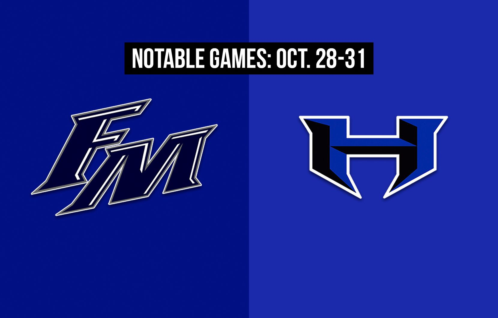 Notable games for the week of Oct. 28-31 of the 2020 season: Flower Mound vs. Hebron.