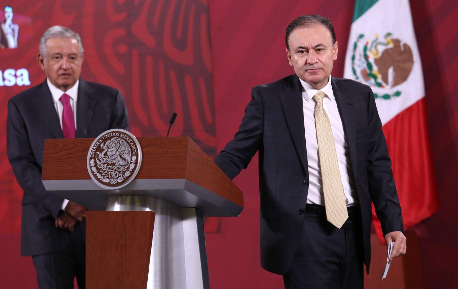 Alfonso Durazo renunció a su puesto para  contender por la gubernatura de Sonora.