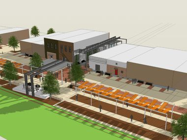 Mesquite is spending $5.5 million to upgrade streets, utilities and public areas in its historic downtown district.