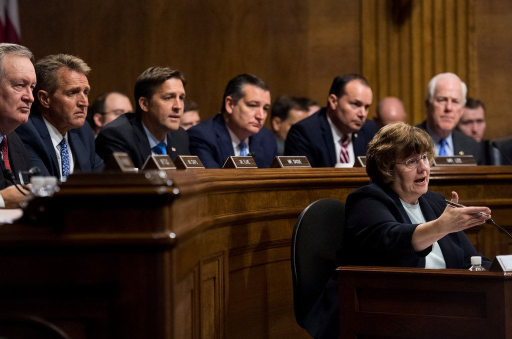 Sens. John Cornyn and Ted Cruz deferred to a GOP-hired attorney during questioning of Christine Blasey Ford and Supreme Court nominee Brett Kavanaugh.